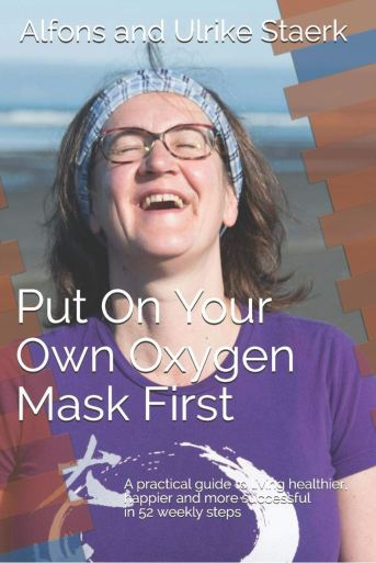 Put on your own oxygen mask first - book cover