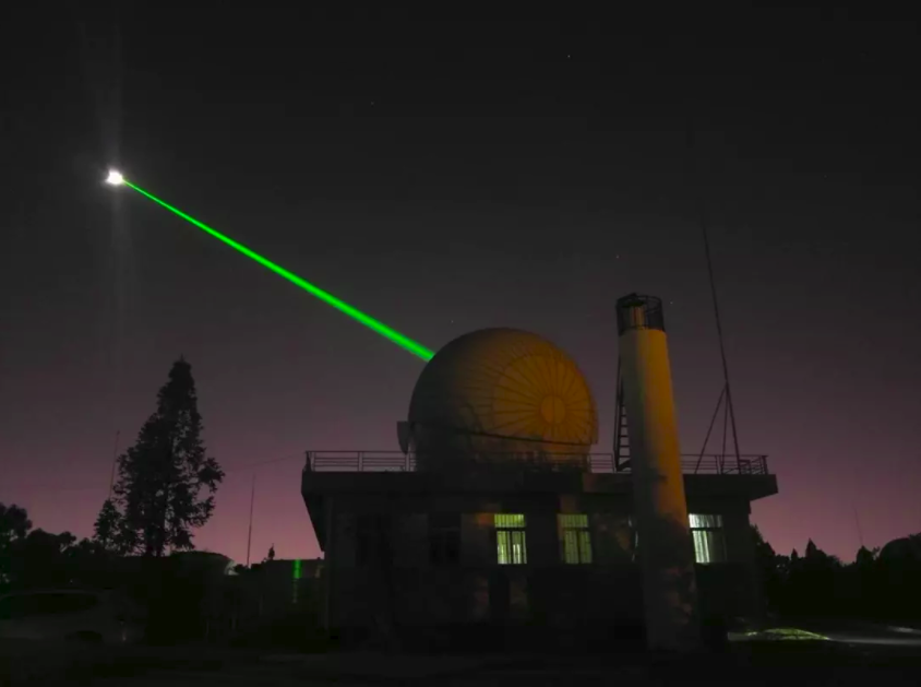Chinese-Academy-of-Sciences-Yunnan-Observatory-1.2m-telescope-moon-laser-rangefinder
